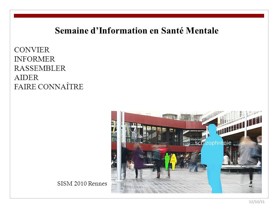 Semaine d'Information en Santé Mentale