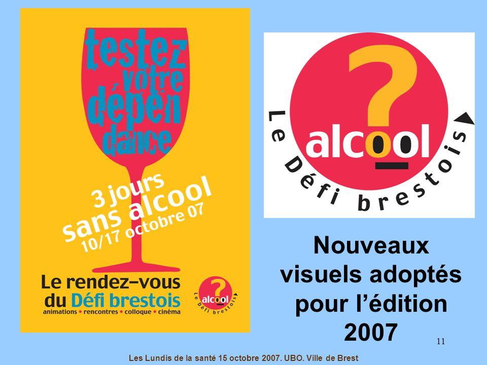Nouveaux visuels adoptés pour l'édition 2007