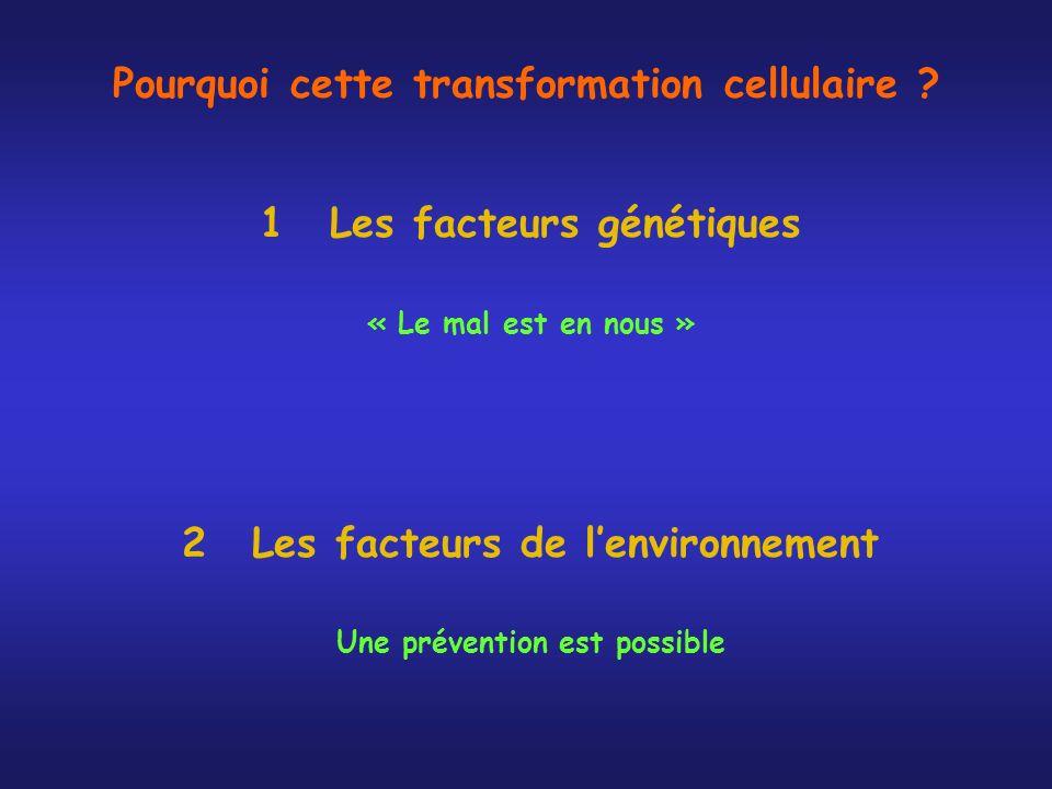 Pourquoi cette transformation cellulaire