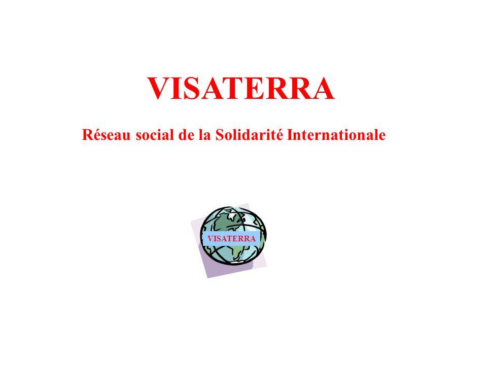 VISATERRA Réseau social de la Solidarité Internationale VISATERRA
