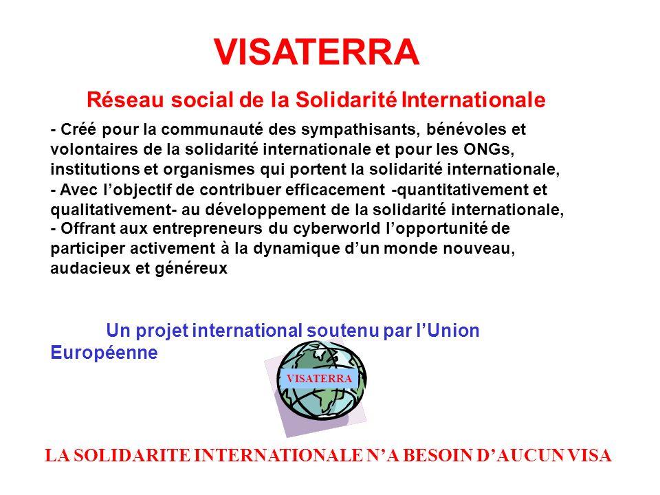 Réseau social de la Solidarité Internationale