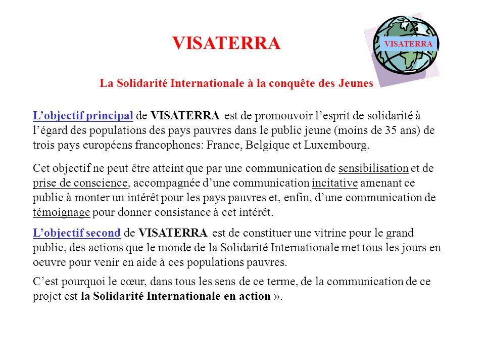 VISATERRA La Solidarité Internationale à la conquête des Jeunes