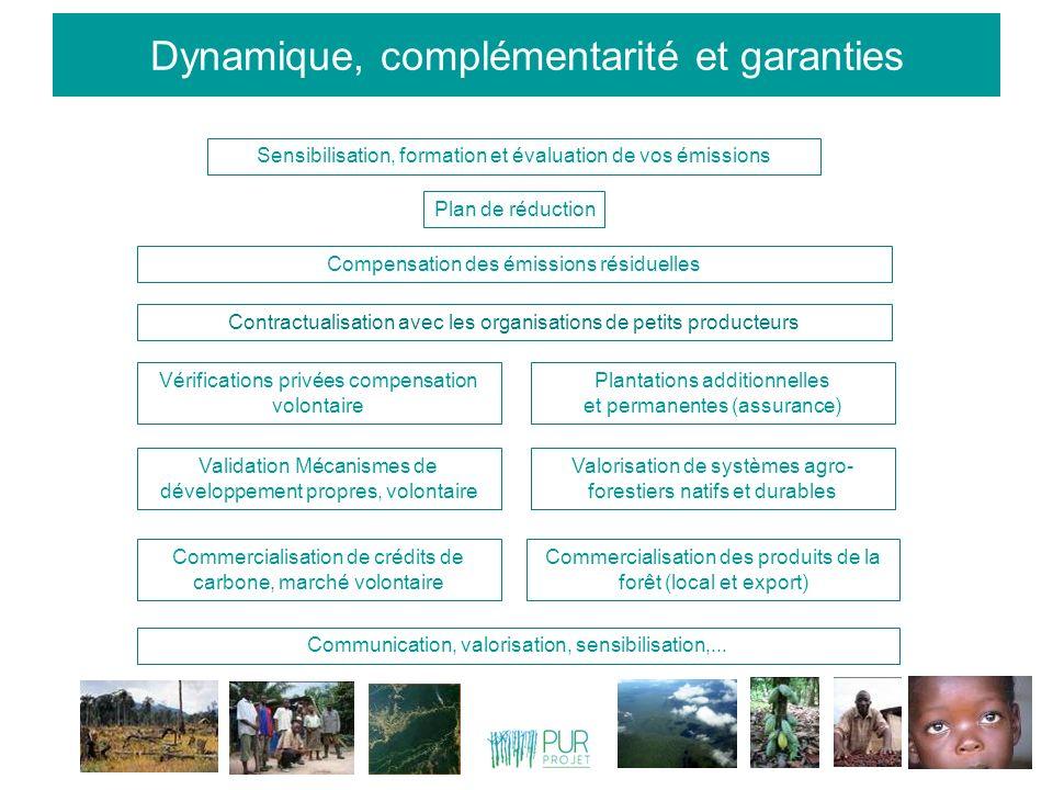 Dynamique, complémentarité et garanties