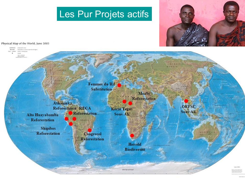 Les Pur Projets actifs Femmes du Rif Substitution Moabi Reforestation