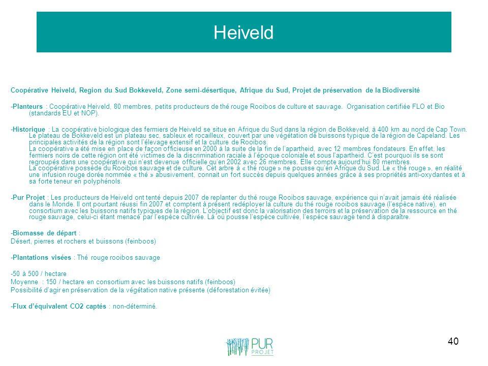 Heiveld Coopérative Heiveld, Region du Sud Bokkeveld, Zone semi-désertique, Afrique du Sud, Projet de préservation de la Biodiversité.