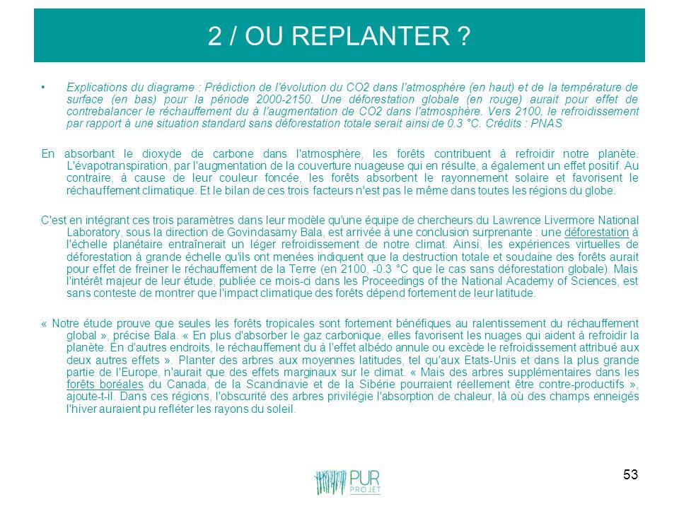 2 / OU REPLANTER