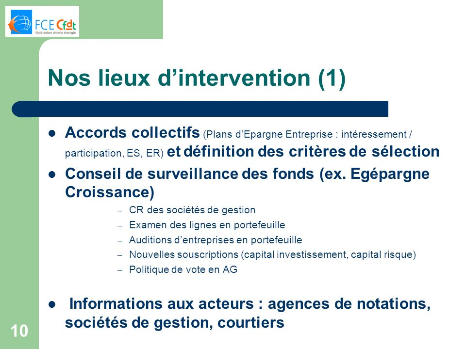 Nos lieux d'intervention (1)