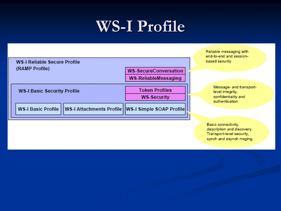 WS-I Profile
