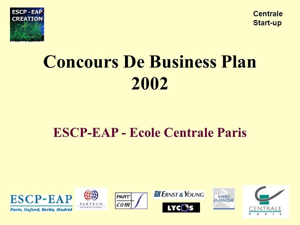 Concours De Business Plan 2002