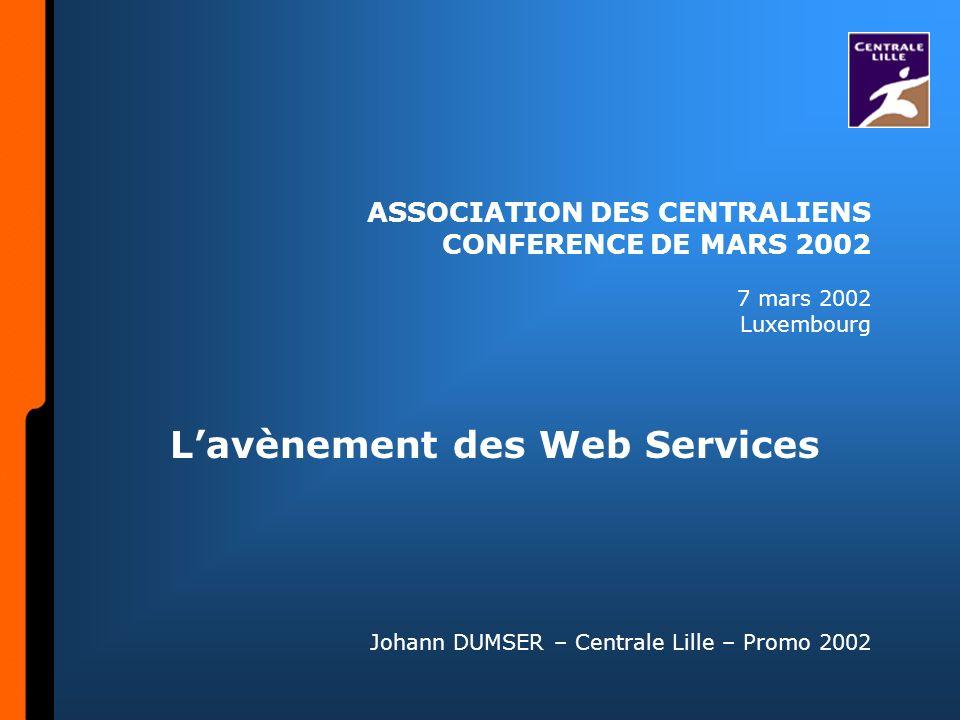 ASSOCIATION DES CENTRALIENS CONFERENCE DE MARS 2002