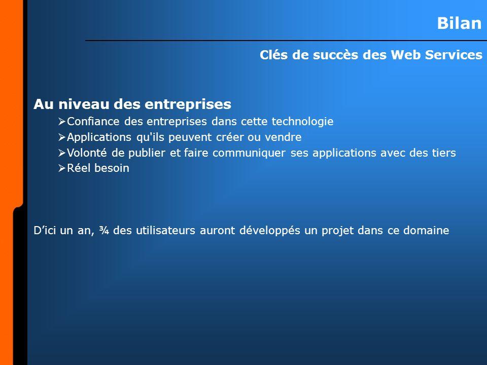 Clés de succès des Web Services