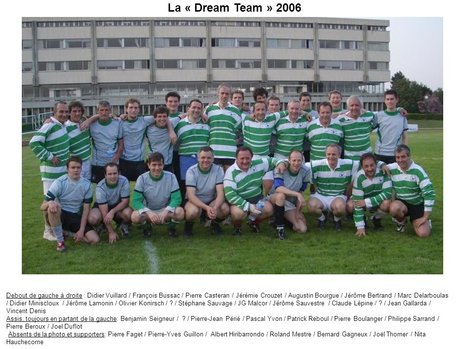 La « Dream Team » 2006