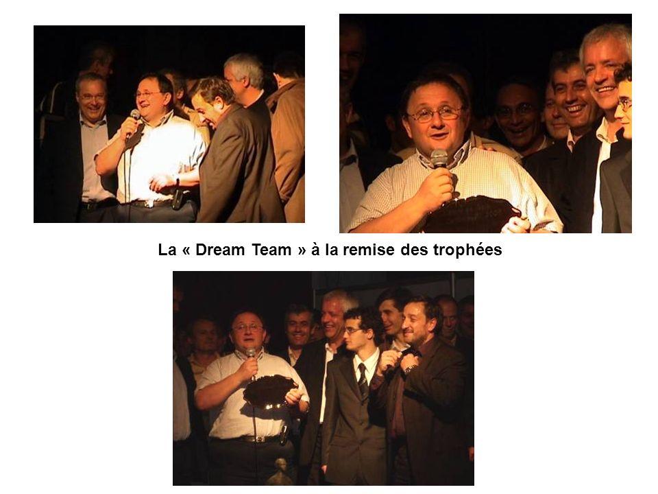 La « Dream Team » à la remise des trophées