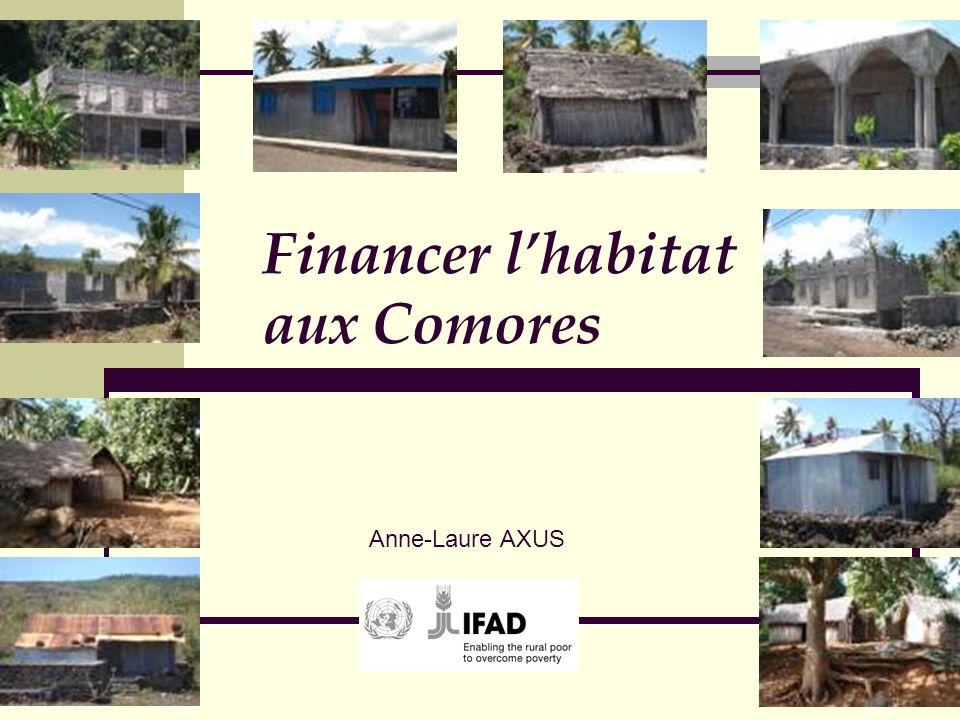 Financer l'habitat aux Comores