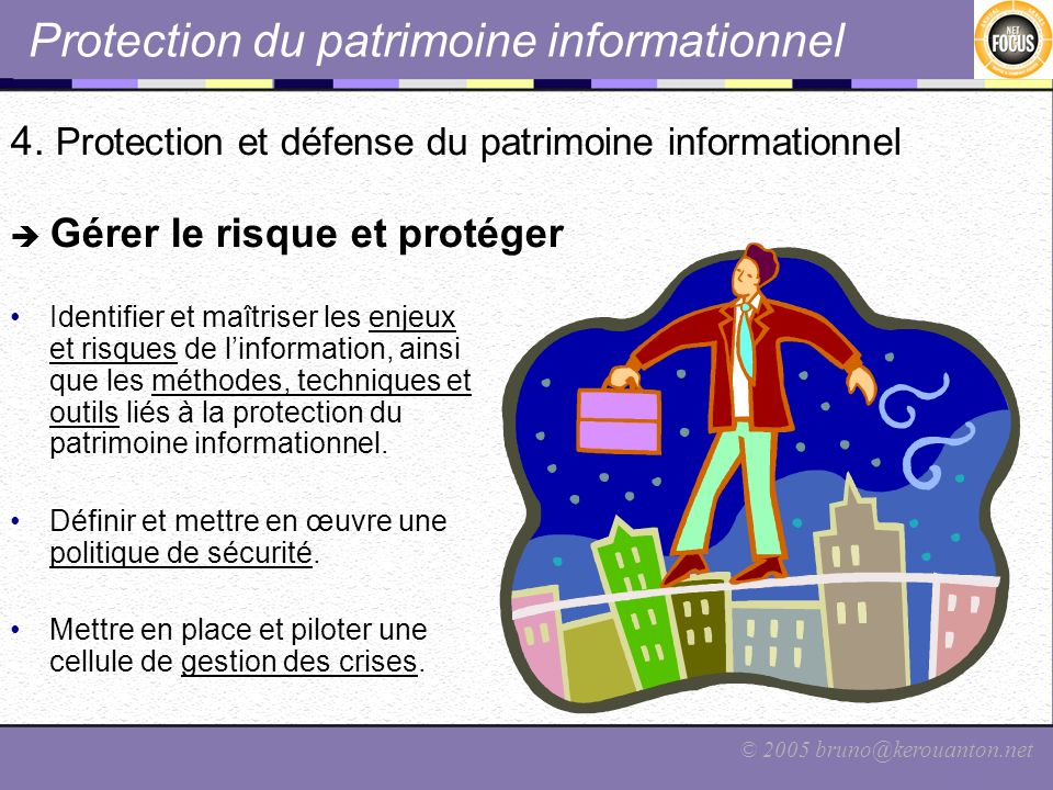 Protection du patrimoine informationnel