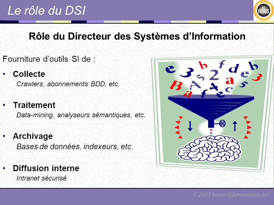 Rôle du Directeur des Systèmes d'Information