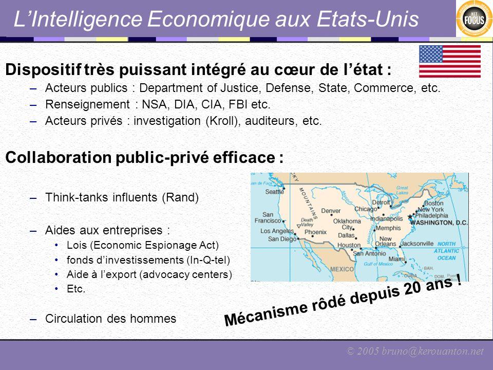 L'Intelligence Economique aux Etats-Unis