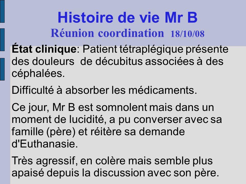 Réunion coordination 18/10/08