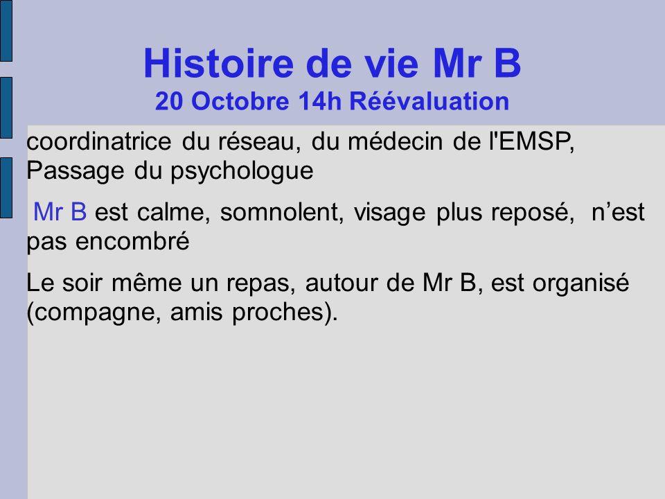 20 Octobre 14h Réévaluation