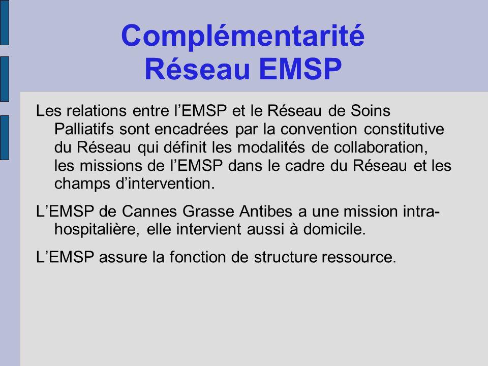 Complémentarité Réseau EMSP
