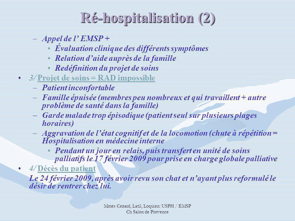 Ré-hospitalisation (2)