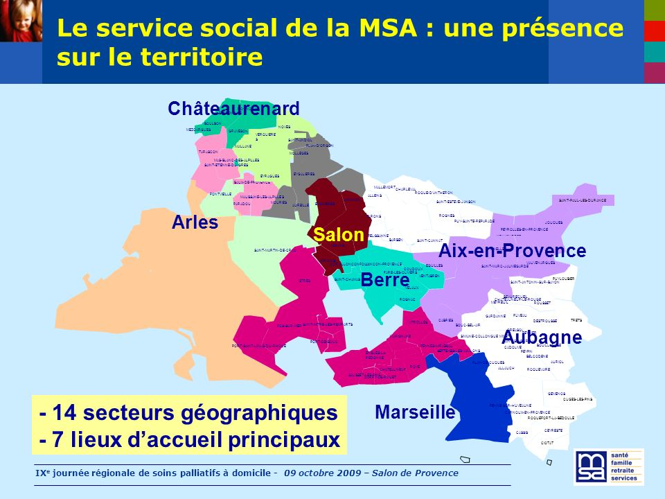 La santé, axe d'intervention de la MSA