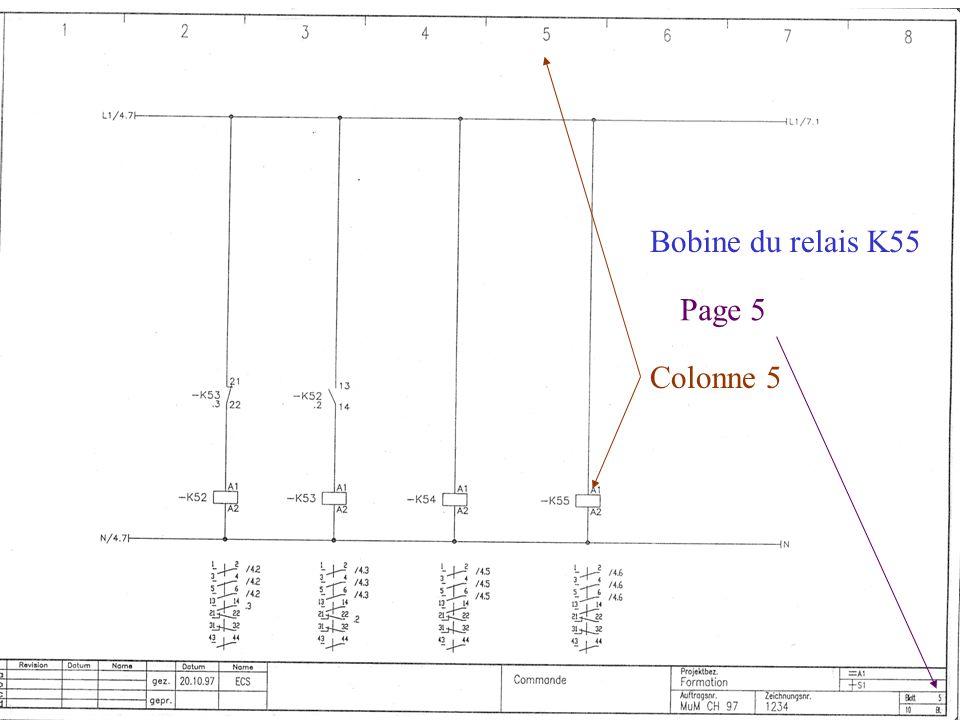 Bobine du relais K55 Page 5 Colonne 5