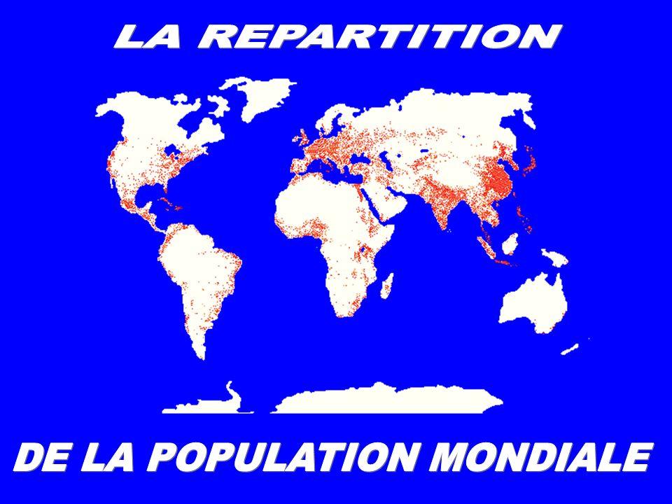 DE LA POPULATION MONDIALE
