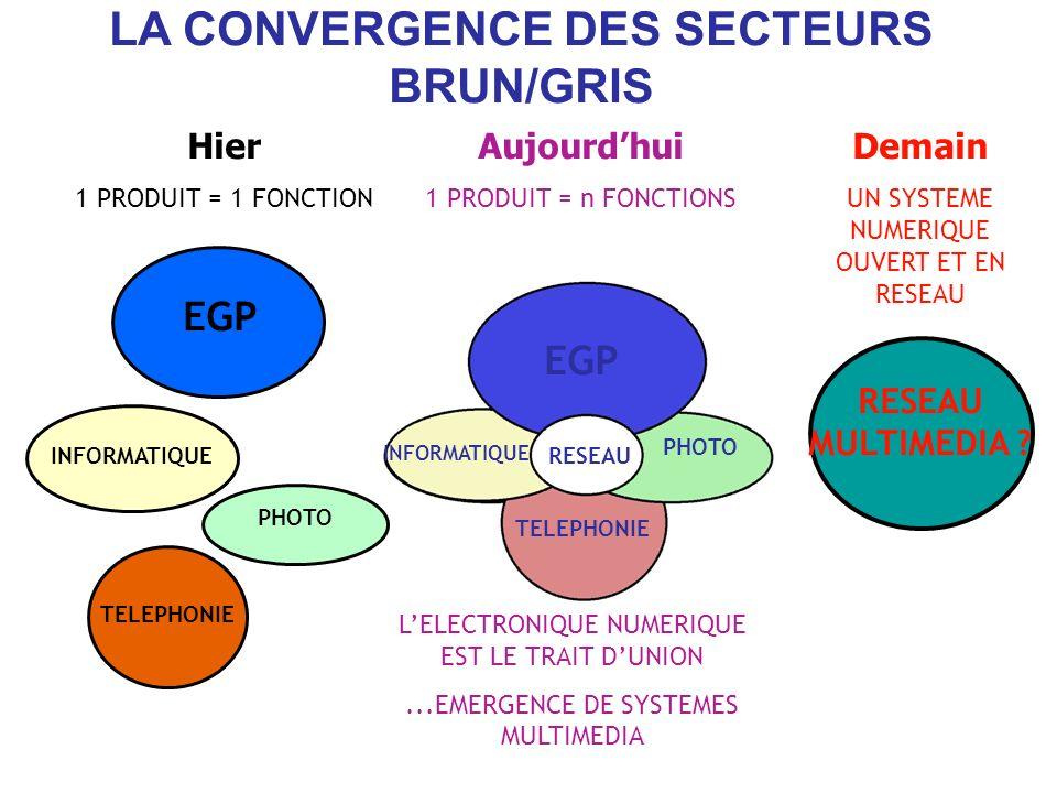 LA CONVERGENCE DES SECTEURS BRUN/GRIS