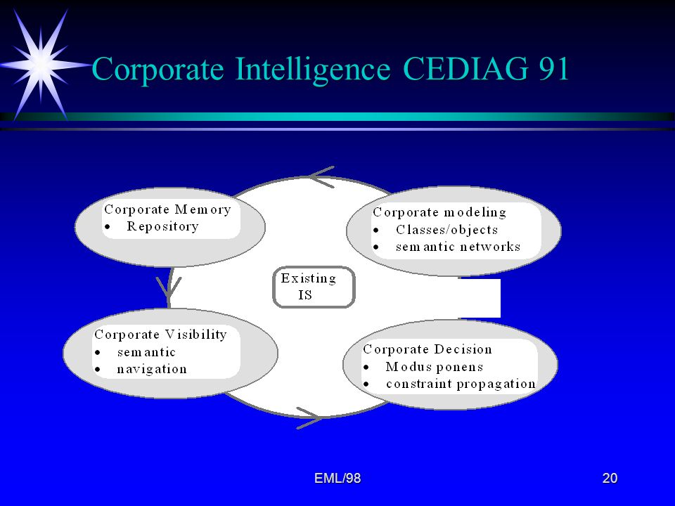 Corporate Intelligence CEDIAG 91