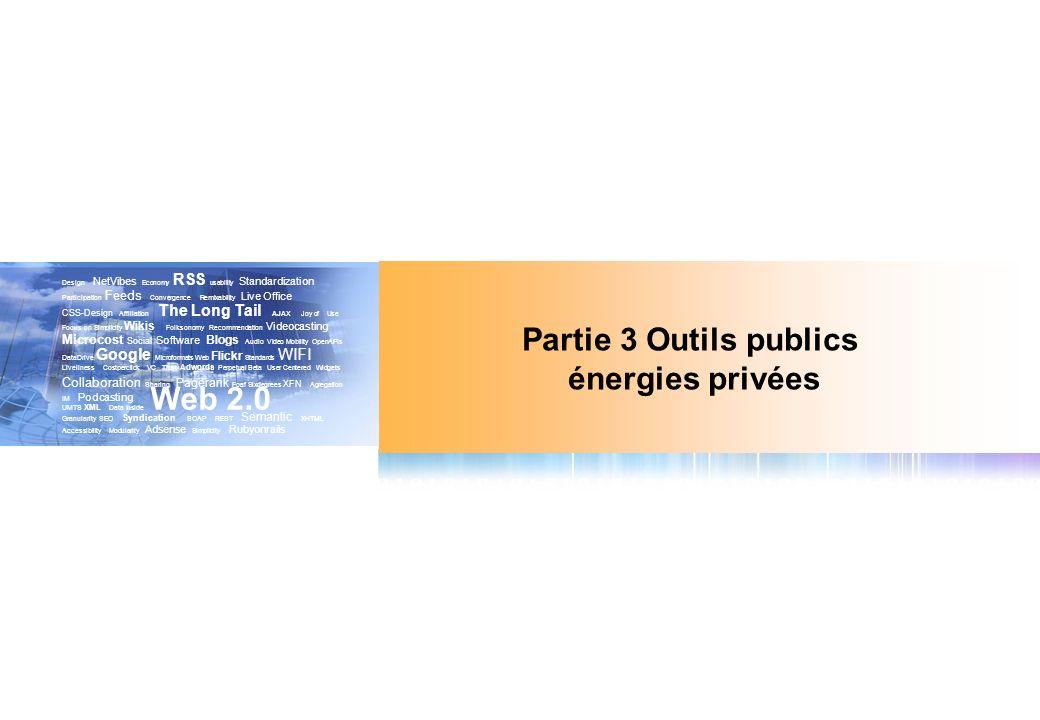 Partie 3 Outils publics énergies privées