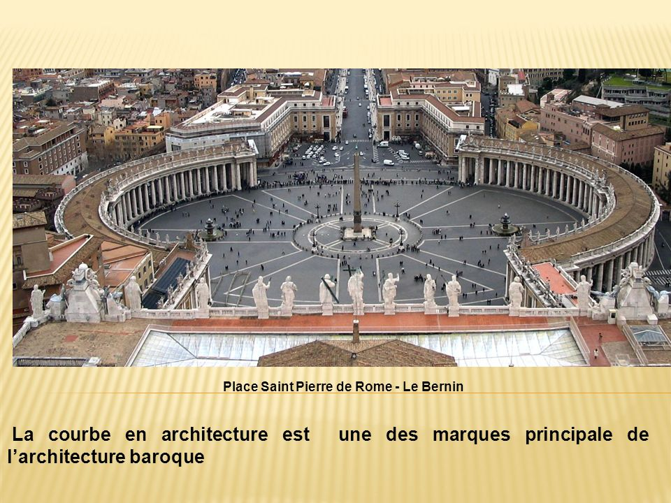 Place Saint Pierre de Rome - Le Bernin