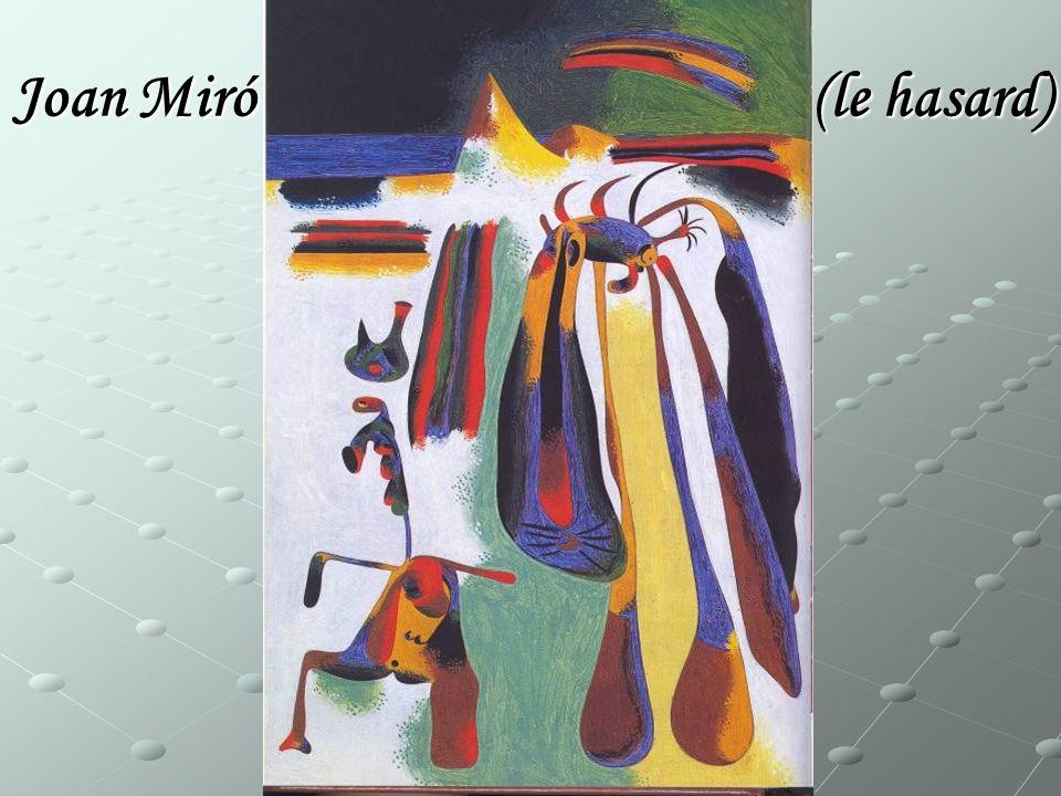 Joan Miró (le hasard)