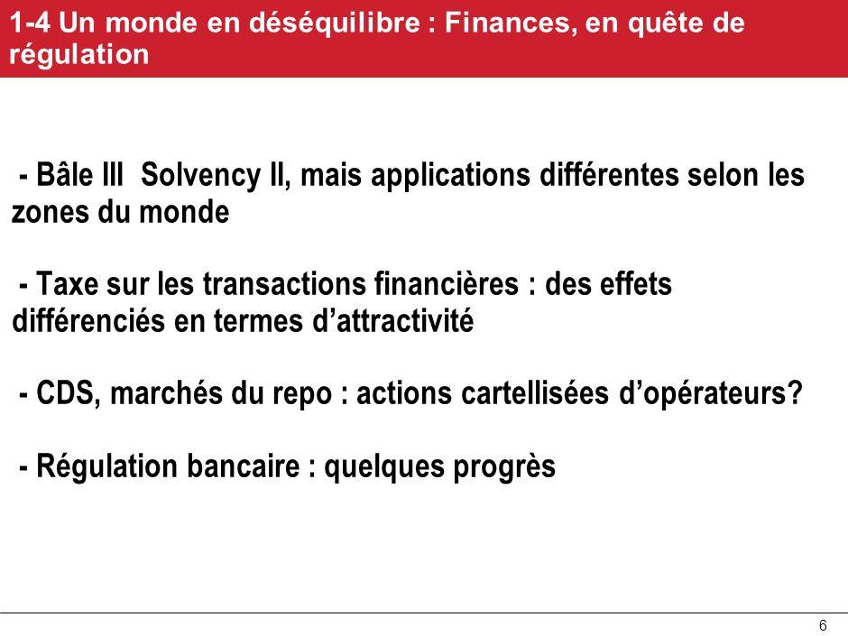 - CDS, marchés du repo : actions cartellisées d'opérateurs