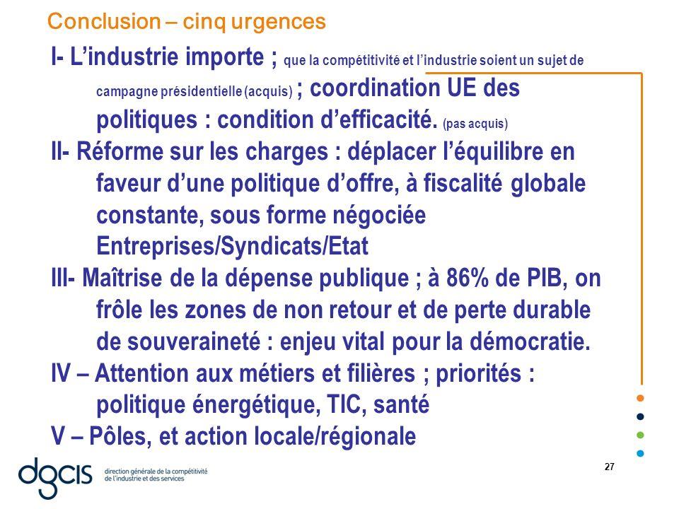 V – Pôles, et action locale/régionale