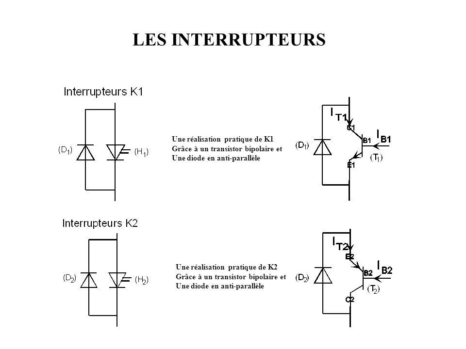 LES INTERRUPTEURS Une réalisation pratique de K1