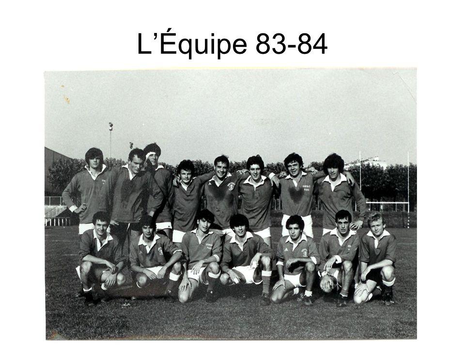 L'Équipe 83-84