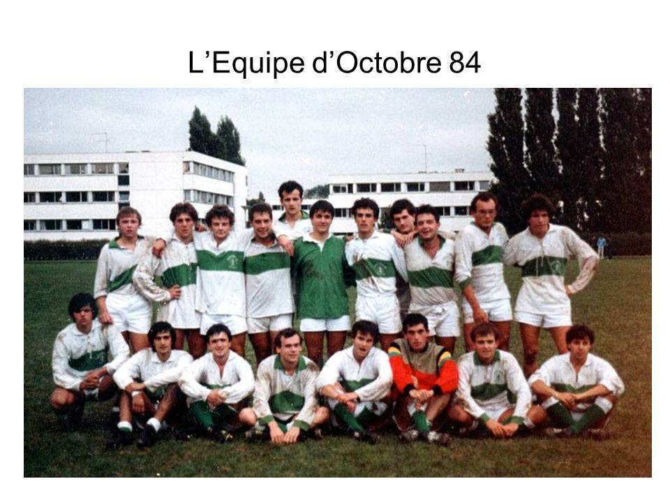 L'Equipe d'Octobre 84