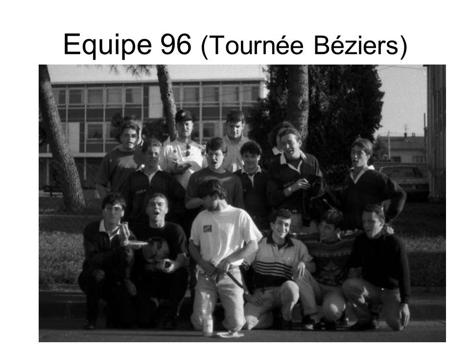 Equipe 96 (Tournée Béziers)