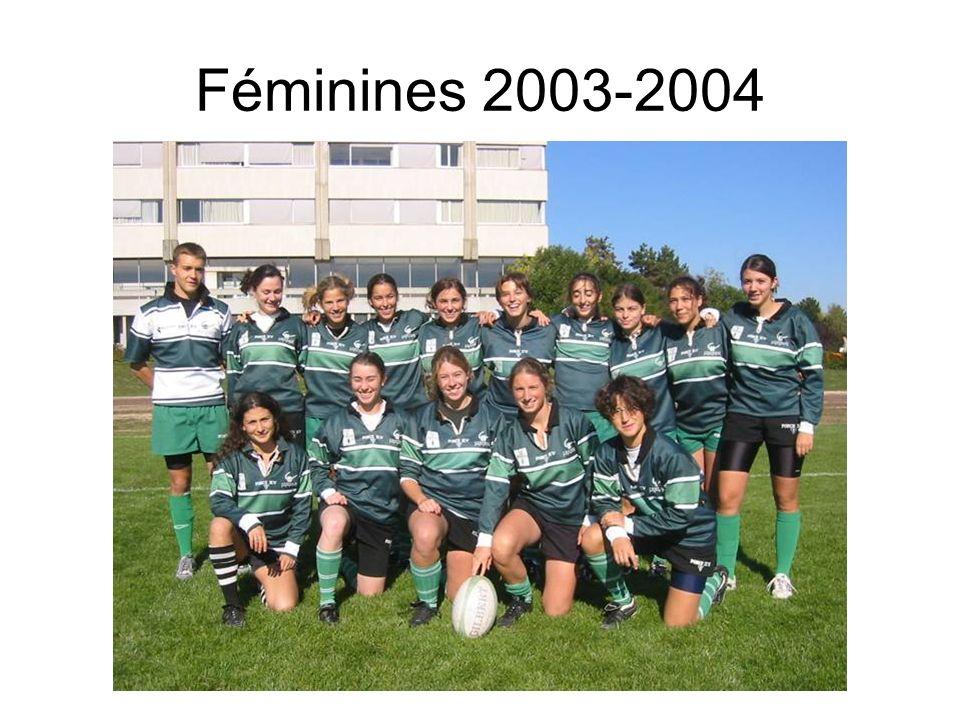 Féminines 2003-2004