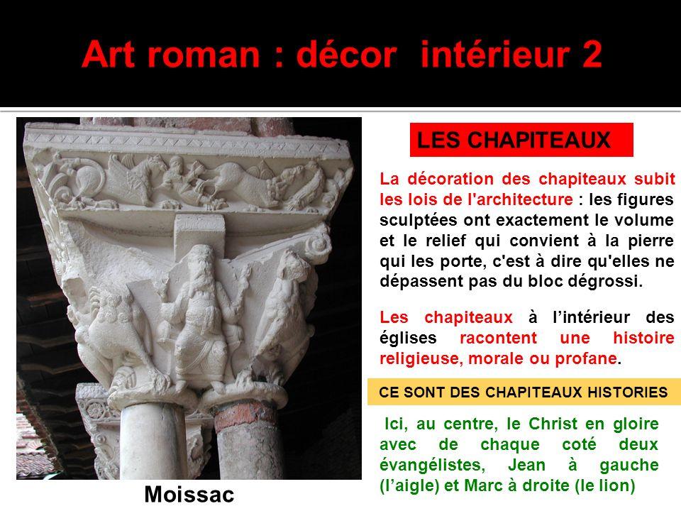 Art roman : décor intérieur 2
