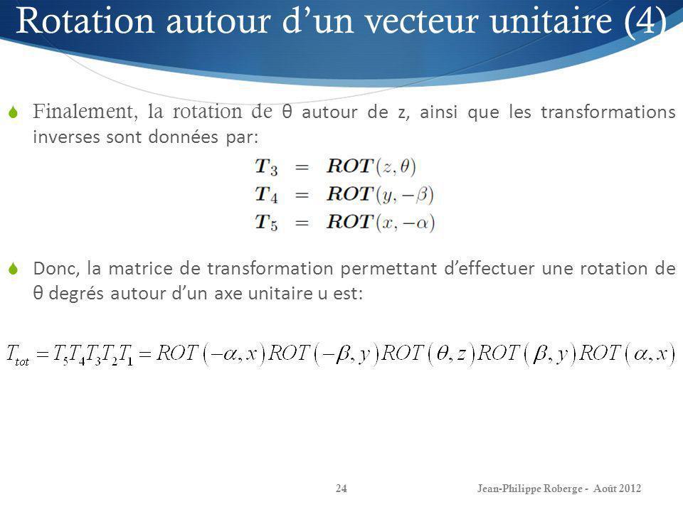 Rotation autour d'un vecteur unitaire (4)