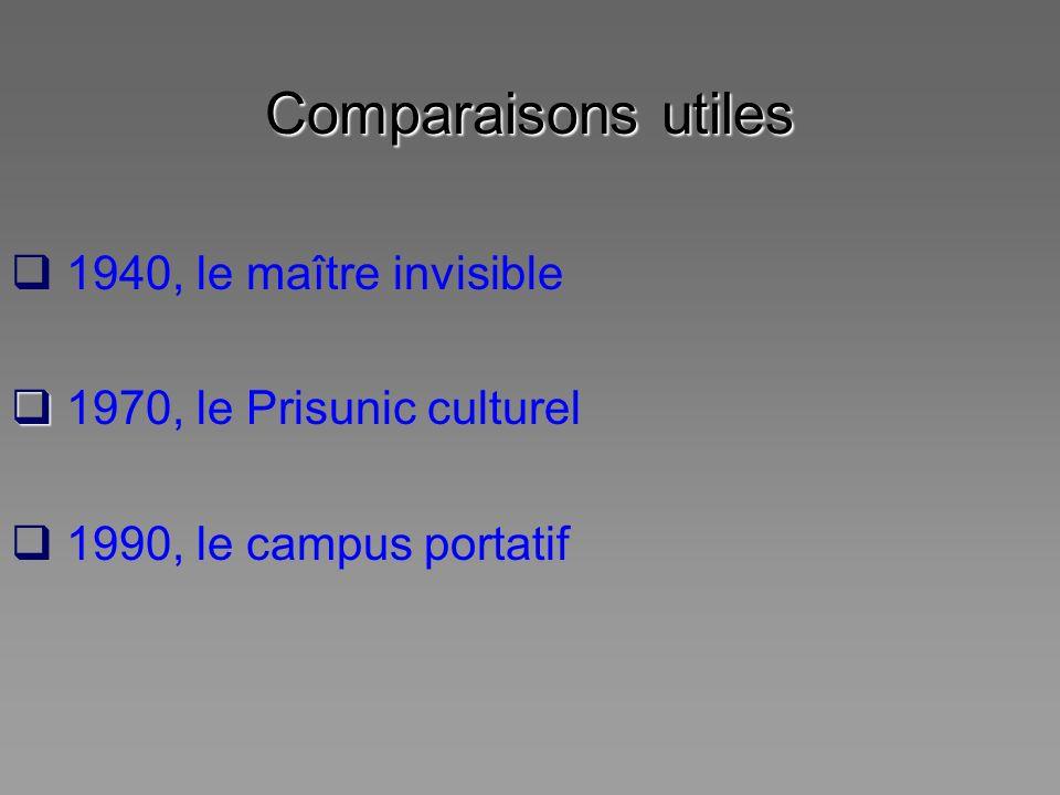 Comparaisons utiles 1940, le maître invisible