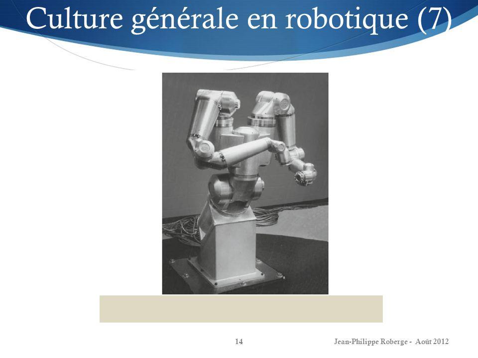 Culture générale en robotique (7)