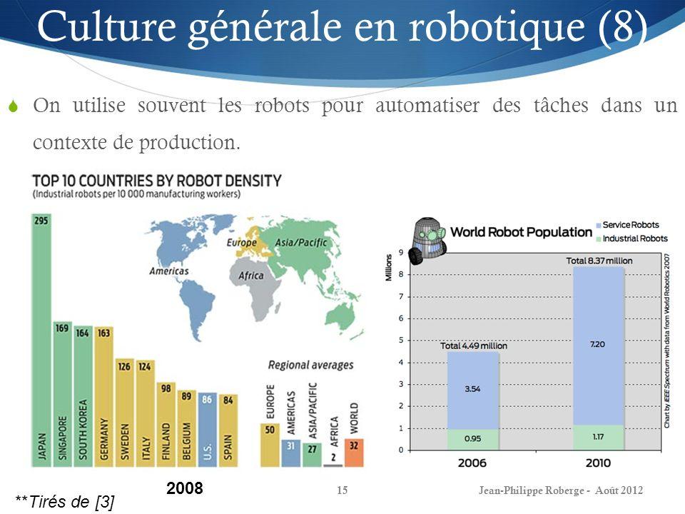Culture générale en robotique (8)