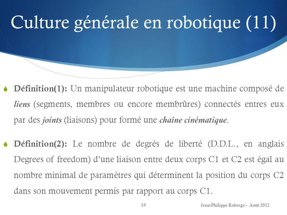 Culture générale en robotique (11)
