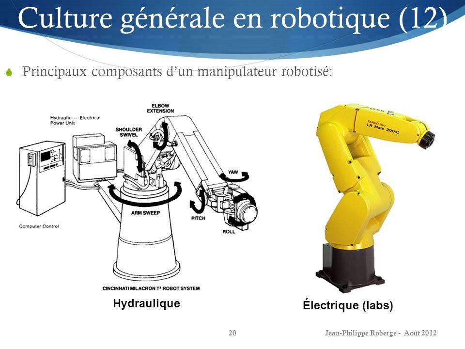 Culture générale en robotique (12)