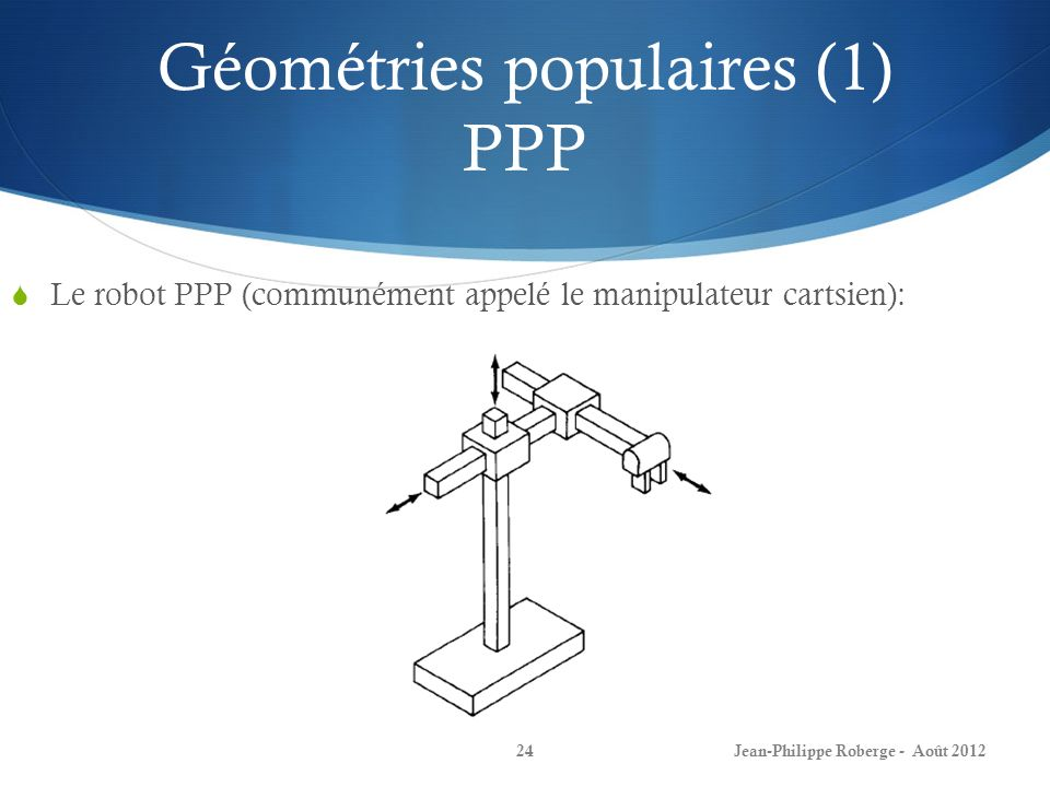 Géométries populaires (1) PPP