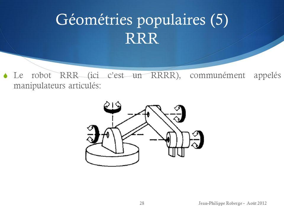 Géométries populaires (5) RRR