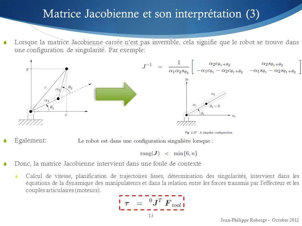 Matrice Jacobienne et son interprétation (3)